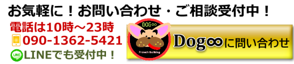 Dog∞ 問い合わせ